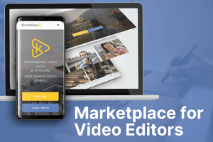 video editing marketplace