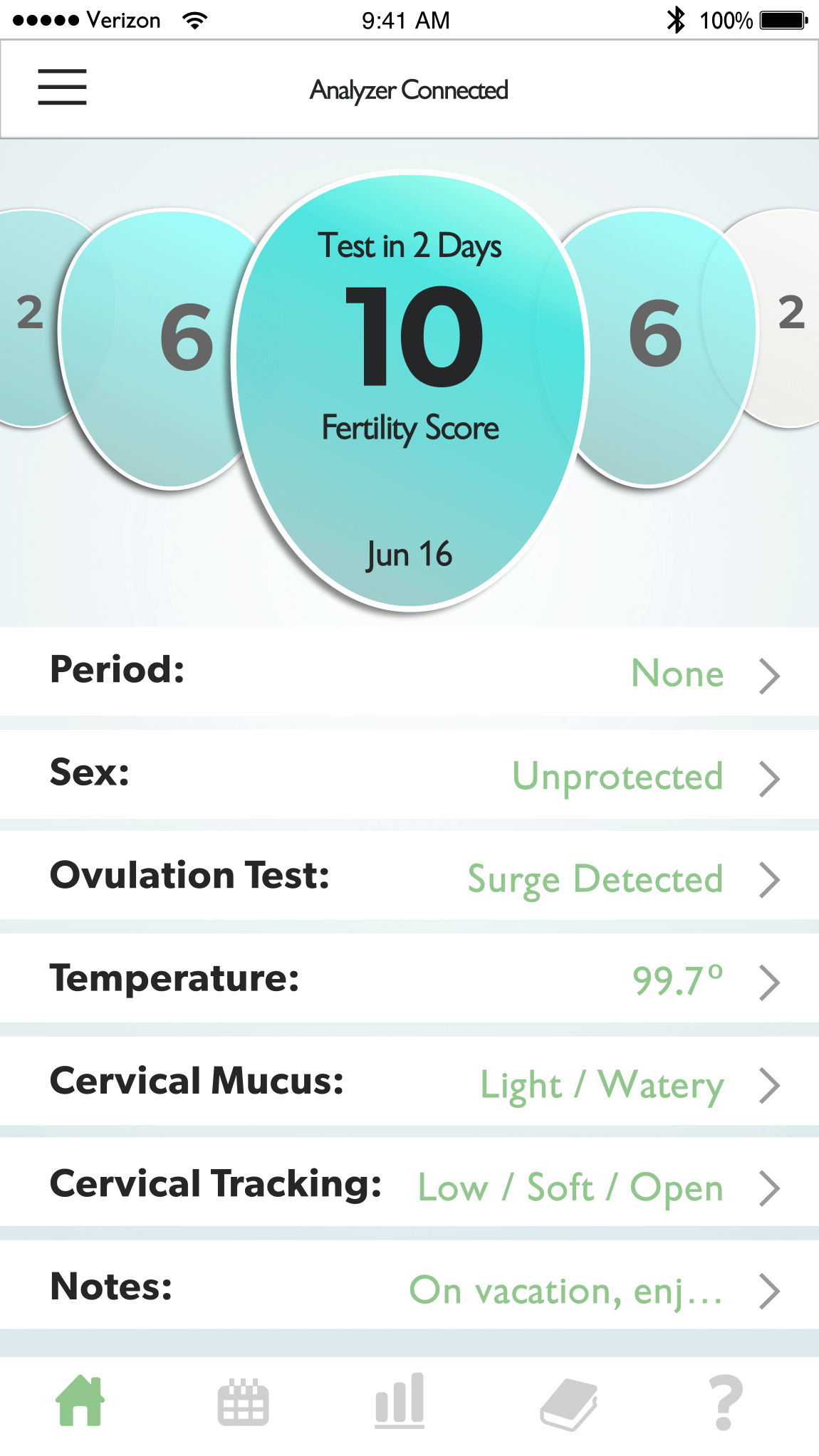 Fertility Tracking App