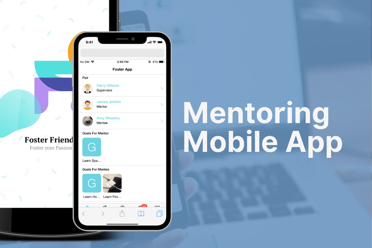 FosterFriends - Mentoring Mobile App 1