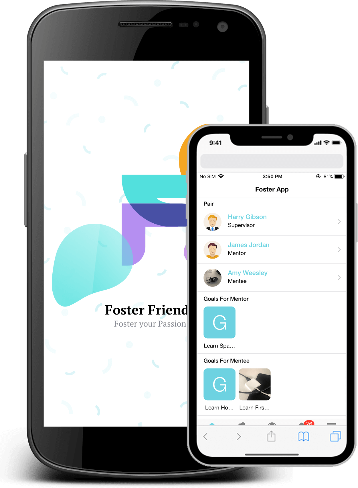 Mentoring Mobile App