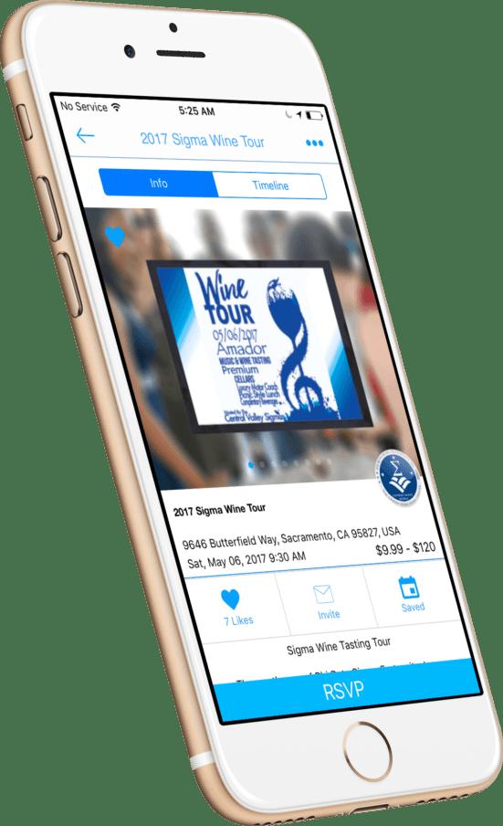 Sievent app