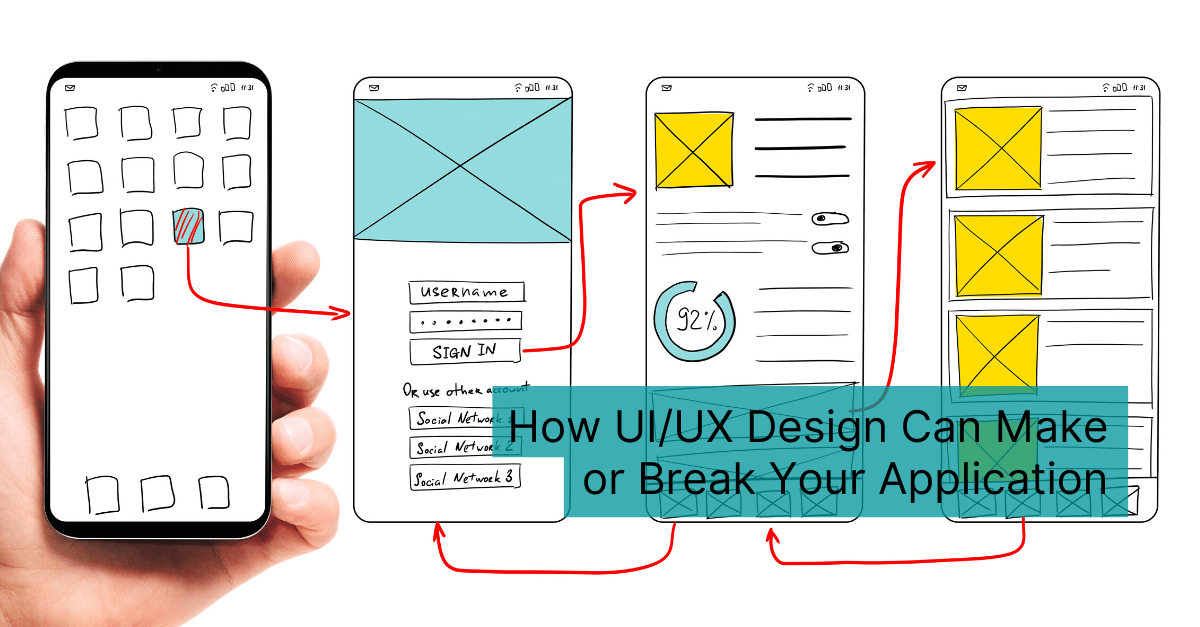 How Ui Ux Design Can Make Or Break Your Application Technology Rivers