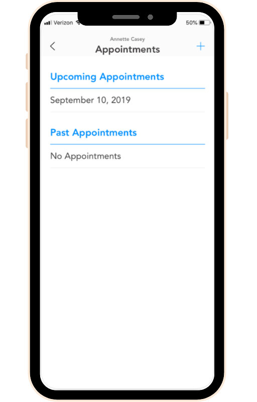 Patient Communication Scheduling App 4