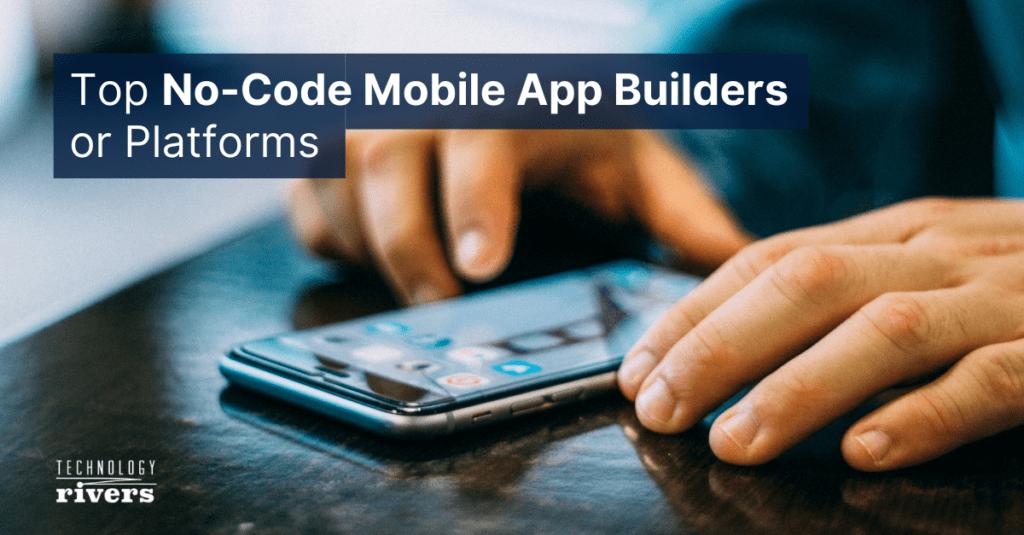 no code app builder platform