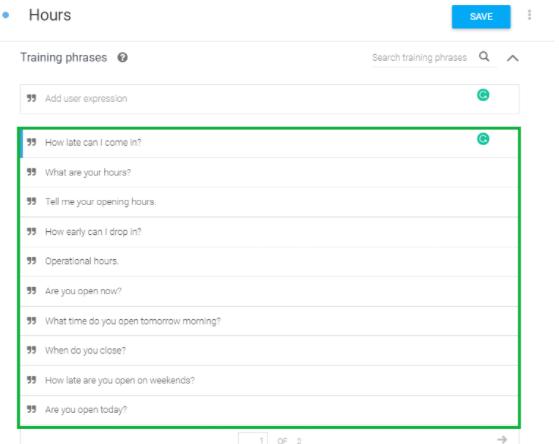 Building Your Custom Chatbot Using Google Dialogflow 17