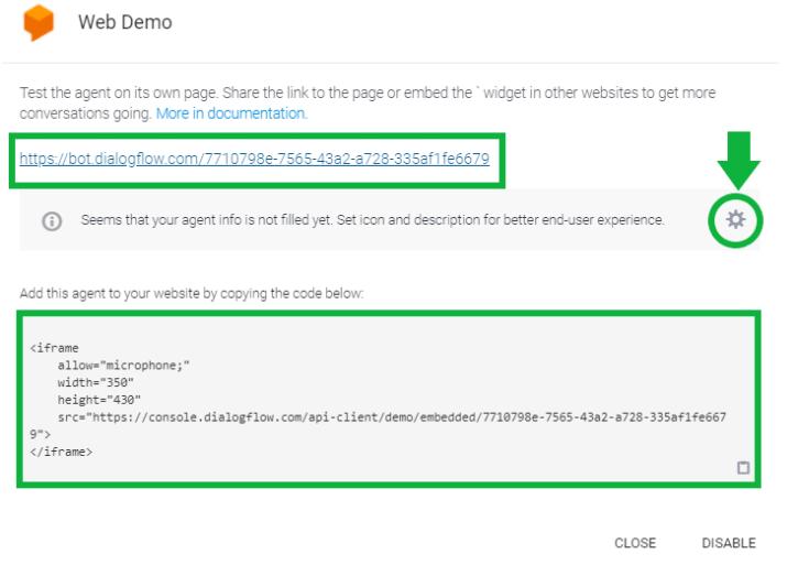 Building Your Custom Chatbot Using Google Dialogflow 42