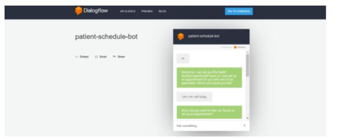 Building Your Custom Chatbot Using Google Dialogflow 43
