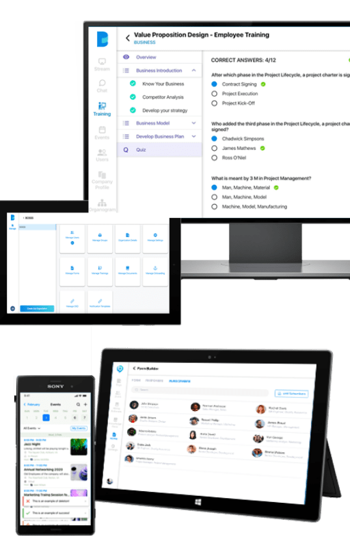 BOSSS - Workspace / Intranet / Collaboration Portal / Training Platform 9