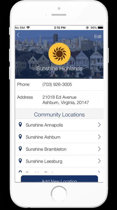 Short Term Assisted Living Platform app